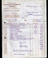 """PARIS (XIV°) MATERIEL pour ELECTRICIEN / SAGA """"GROUVELLE ARQUEMBOURG"""" en 1928"""