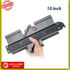 UPGRADE Contour Gauge WITH LOCK 10 In Profile Tool Mark&Cut Any Shape like Saker