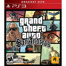 Grand Theft Auto: San Andreas Ps3 [Brand New]