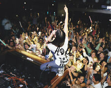 STEVE AOKI SIGNED AUTOGRAPH EDM DANCE DUBSTEP  8X10 PHOTO  EXACT PROOF