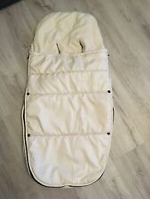 Bugaboo Off White Footmuff Old Style See Description