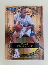 2012/13 Fleer Retro Paul Pierce Traditions Playmaker Theatre Card /100