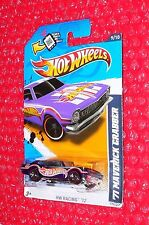 2012 Hot Wheels '71 MAVERICK GRABBER HW Racing #179 V5655-09A0N Wal-Mart redline