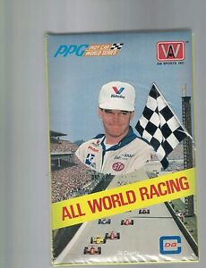 PPG INDY CARS WORLD SERIES 1991 ALL WORLD RACING - Trading Cards Sealed Box