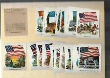1984 National Flag Foundation Flags Stickers Near Mint Complete Set(31 stickers)
