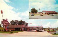 Arrowhead Motel route 66 Springfield Missouri Aurora Depew Postcard 10262
