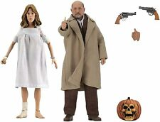 Halloween 2 Doctor Loomis and Laurie Strode 8-Inch Scale Clothed Figure 2 Pack*