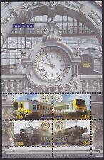 Belgium 2008 - Very Fine MNH Stamp Mini Sheet Cob#TRV-BL16 Railway Train...A4485