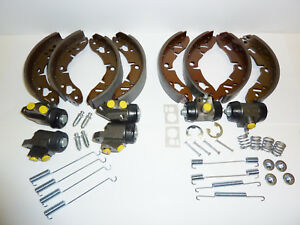 Classic Mini 1966 on Front & Rear Brake Shoes Cylinders & Fitting Kits 4409 4410