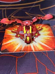 Bakugan Pyrus Ultra Dragonoid With Damaged Texture Japan Exclusive