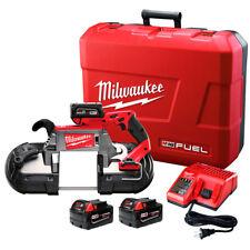 Milwaukee 2729-22 M18 FUEL 18-Volt Deep Cut Band Saw w/ Batteries