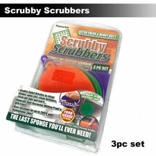 Mildew-Free Scrubby Scrubbers silicon sponge Better than sponge cleaning