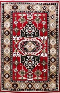 RED Geometric Traditional Oriental Turkish Area Rug Classic Large Carpet 10x14