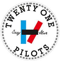 21 Pilots Twenty One Vinyl Sticker Decal