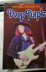 DEEP PURPLE Heavy Metal Photo Book Vol. 4 Japanese Rock Book Ritchie Blackmore