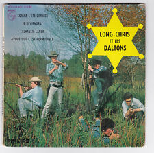 EP 45 TOURS LONG CHRIS et LES DALTONS JE REVIENDRAI PHILIPS 432 818 en 1962