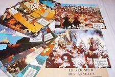 LE SEIGNEUR DES ANNEAUX  bakshi jeu 14 photos cinema  lobby cards animation 1978