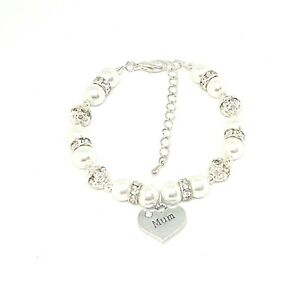 Personalised Bracelet Weeding, Birthday, Mothers Day Gift