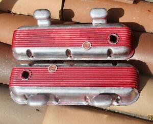 Original Cal Custom Vintage 396 427 454 Big Block Chevy Valve Covers L88 REAL