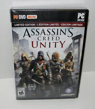 Assassin's Creed Unity limited edition online (PC,2014) Chemical Revolution NEW