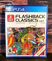 Atari Flashback Classics: Vol. 1 - PS4 - Sony Playstation 4 - Brand NEW - Sealed