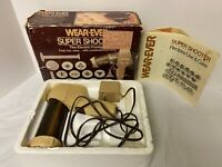 Vintage Wear-Ever Super Shooter Electric Cookie Press *GUN / MANUAL ONLY* 70123