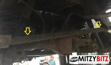 GOOD USED MITSUBISHI DELICA L400 2.8 4M40 REAR PANHARD ROD LATERAL BAR #2