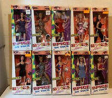 1997-1998 SPICE GIRLS Dolls (Lot of 10) On Tour & Girl Power Galoob Toys (S2)