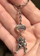 Pit Bull Key Chain - Best Friend charm Pittie - Us Seller Free Shipping