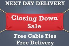 Closing Down Sale PVC Banner OUTDOOR SIGN Retail - 1.5m WIDE - NEXT DAY DELIVERY