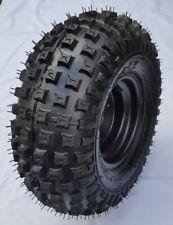 Komplettrad mit Felge 3-Loch 16x8-7 schwarz TL-Noppe