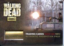 The Walking Dead Season 3 Part 2 Shell Casing Prop Trading Card SC-02 Free Ship