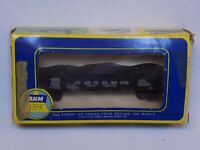 AHM HO Scale Utah Coal Route Black Gondola Model Train Car in Original Box 20153