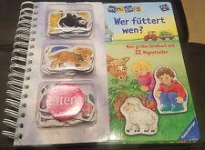 Ministeps - Wer füttert wen ? mit 22 Magnetteilen - Ravensburger - NEU !!!