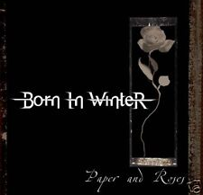 Born In Winter Paper and Roses CD NEW 2008 Female Fronted Gothic Rock Metal Band
