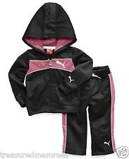 2 Piece Puma Tricot Hoodie Jacket & Pants ~ 24 Months ~ New With Tags MSRP $48