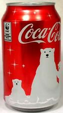 "FULL 2011 Russian Coke ""Red"" Coca-Cola Save Polar Bear World Wildlife Federation"