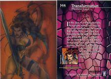 Avengelyne Lenticular Motion Card M4 1996 Rob Liefeld NM/Mint Rare