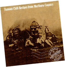 Famous Chili Recipes from Marlboro Country * Camping Chuck Wagon cook booklet