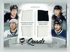 10-11 UD The Cup Quads  Lecavalier--Stamkos--St. Louis--Gagne  /10  Jerseys