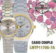 Casio Couple Watch  LTP1170G-7A MTP1170G-7A