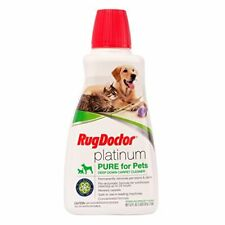 Rug Doctor's premium deep cleaning solution for pet stains and odors 52 fl oz.