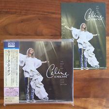 JAPAN POSTCARD+HANDKERCHIEF+BLU SPEC CD THE BEST SO FAR 2018 CELINE DION courage