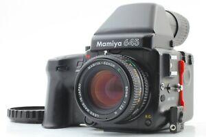 【NEAR MINT】 Mamiya 645 Pro Camera + Sekor C 80mm f2.8 N Lens +120 FilmBack JAPAN