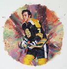 Phil Esposito Boston Bruins NHL Hockey Stamp Lithos Lithograph Canada Post