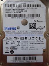 Samsung HN-M500MBB/ SCC | P/N: C7932-G12A-A4PYU | 2011.10 | 500GB