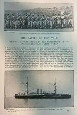 1895 Sino Japanese War Battle of Yalu Li Hung Chang Chen Yuen illustrated