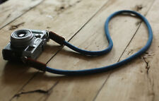 COOL gray blue Climbing rope 10mm  handmade Camera neck strap