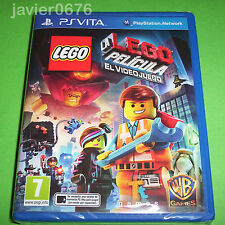 LA LEGO PELÍCULA EL VIDEOJUEGO NUEVO Y PRECINTADO PAL ESPAÑA PLAYSTATION PS VITA