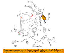 TOYOTA OEM Yaris-Taillight Tail Light Lamp Bracket Mount Pocket Left 6162252110